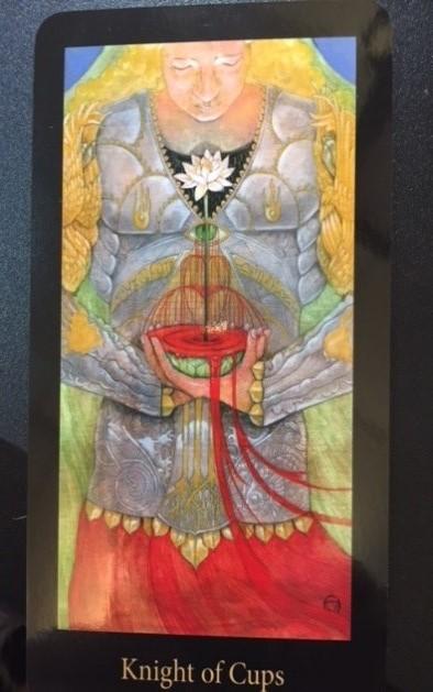 Knight of Cups (Mary-El Tarot)