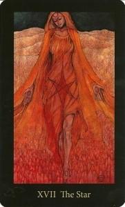 The Star (Mary-El Tarot)