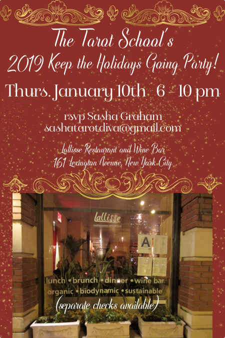 The Tarot School's 2019 Keep the Holiday's Going Party