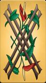 Arcanum X 4 of Wands