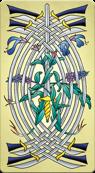 Arcanum X 9 of Swords