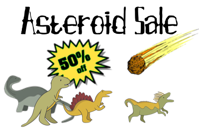 Asteroid Sale -- 50% Off!