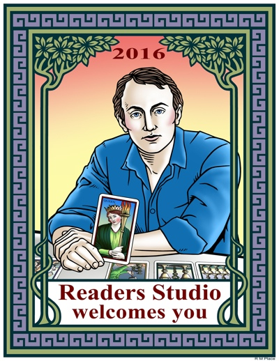 The Readers Studio: April 29-May 1, 2016 — 3 days of intense Tarot learning and fun for Tarot Enthusiasts! Plus an all-day Tarot & Psychology conference on Thursday, April 28th. Produced by The Tarot School.