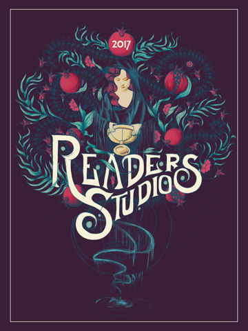 2017 Readers Studio Poster by Ryan Edward Capogreco