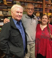 Stuart Kaplan with Wald and Ruth Ann Amberstone
