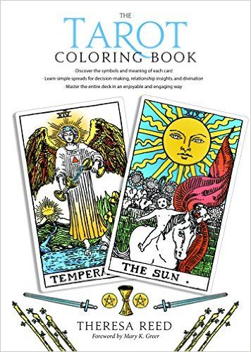 Theresa Reed's Tarot Coloring Book