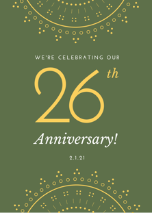 The Tarot School's 26th Anniversary!