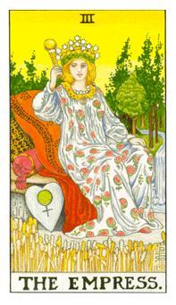The Tarot School Hanged Man Empress Birth Cards