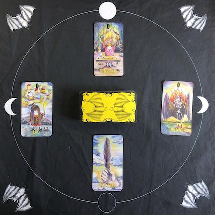 4-Card Moon Phase Spread
