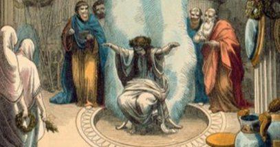 Pythia, the Oracle at Delphi